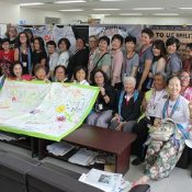 An international meeting of women has called for peace without military and the cancellation of the new Henoko base