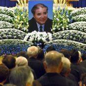 "Funeral held for ""embodiment of postwar Okinawa"" Kosuke Uehara"