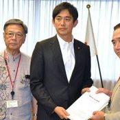 Kanagawa governor proposes disaster-related agreement with US military, but Onaga concerned it could lead to base fortification