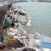 Typhoon No. 18: all Taiwanese crew members rescued at Hirara Port in Miyakojima City