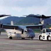 2 Ospreys make emergency landing at Ishigaki airport, runway temporarily closed