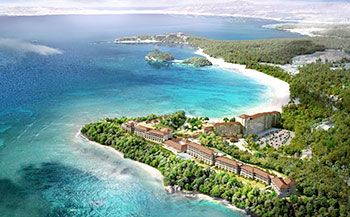 "Hawaiian luxury resort hotel ""Halekulani"" opens in Onna in 2019"