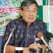 Nago mayor calls for a stop to Henoko base construction and a survey of coral, fears indifference toward Henoko in House of Representatives election
