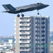 F-35As temporarily deployed to Kadena