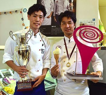 First Japanese hailing from Ginowan City crowned best gelato-maker in the world