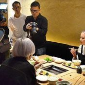Thailand royal family member takes part in filming Okinawa travel program for Thai television