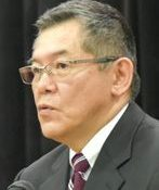 Bin Konno gives lecture on preserving the essence of Karate at Urasoe symposium