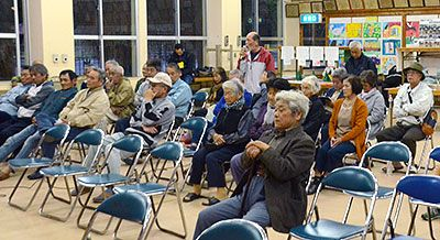 Oku assembly unanimously agrees to oppose port use for transport of Henoko base materials