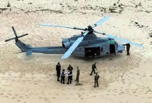 Ikei citizens to protest this month after U.S. Military helicopter makes emergency landing