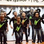 Music of hope: Uganda children's choir group gets together with Uruma City children