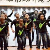 Music of hope: Uganda children's choir group gets together with Uruma City children