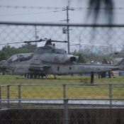 Another MCAS Futenma helicopter emergency landing, this time in Yomitan Village