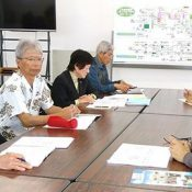 Nakagusuku and Kitanagusuku residents' group asks local sanitation association to refuse U.S. military waste collection