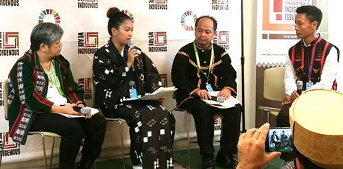 ACSILs representative Oyakawa speaks about Okinawa at UN Permanent Forum on Indigenous Issues