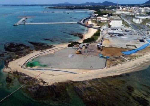 MOD continues Henoko construction without transplanting rare coral, evading OPG engagement