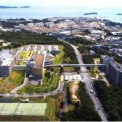 Civilian and U.S. military buildings surrounding Henoko base exceed civil aeronautics and U.S. military height restrictions