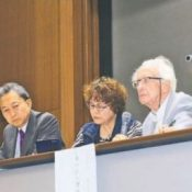 "Johan Galtung advocates that ""Okinawa should become the central hub of the East Asian community"" at peace symposium"