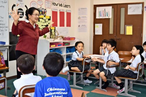 Okinawa International School starts offering Shimakutuba classes