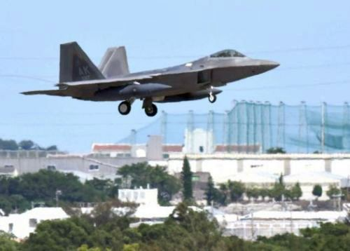 Local municipalities worry about increased noise from temporary F-22 deployment to Kadena Air Base