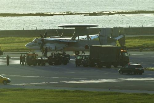 Japan ASDF plane has tire puncture on runway at Naha Airport, affecting 46 flights and around 5,000 passengers