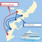 Daiichi Koutsu high-speed ferry hopes to expand tourism to northern parts of island