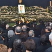 "4,500 people attend memorial service for Governor Onaga to mourn ""The soul of a politician"""
