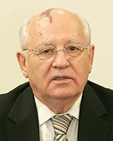 Gorbachev sent a eulogy to Governor Onaga