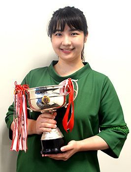 Marino Uezu wins national speech contest with presentation that spoke of her Okinawa roots