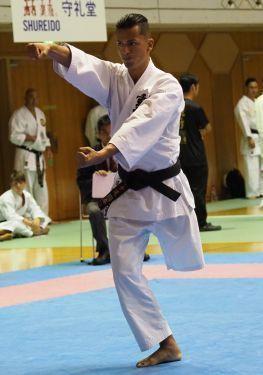 One-legged Brazilian Karate-ka comes to the homeland of Karate for international tournament