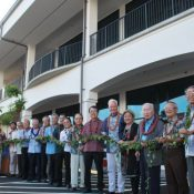 600 people celebrate Okinawa Plaza opening in Hawaii