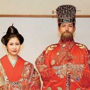 "Shuri Castle selects new ""King"" and ""Queen"": Hiroyuki Kamiyama and Iroha Nagamine"