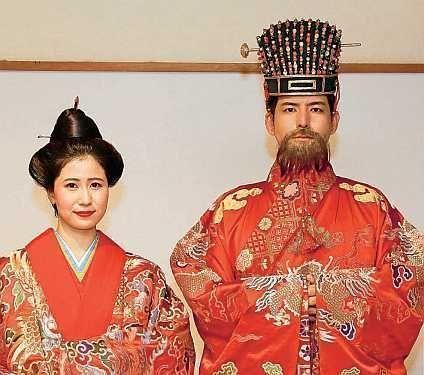"Shuri Castle selects new ""King"" and ""Queen"": Hiroyuki Kamiyama and Iroha Nagamine"
