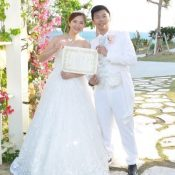 "Visitors coming to Okinawa from abroad for ""Legal Weddings"" increasing rapidly"