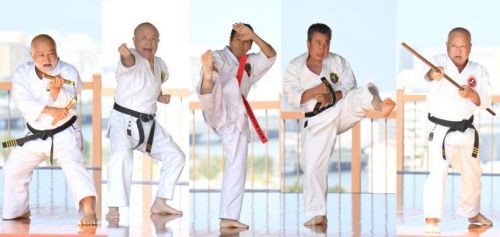 """The Martial Art of Peace,"" the essence of Okinawa Karate, performed by 5 top Karate figures for Karate Day celebration"
