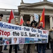 International conference in Ireland calls for removal of all U.S. military bases worldwide, Okinawa included in discussion