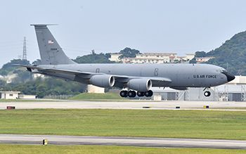 US aerial tankers fly to MCAS Futenma, Ginowan residents complain of noise intensification