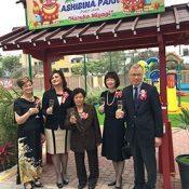 Peru – Okinawan group in Peru fulfills long-held dream of constructing children's park in Lima