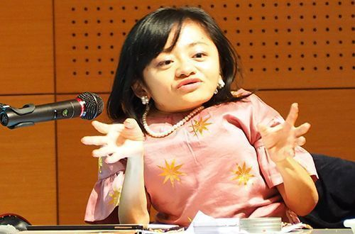 """Everyone helps each other"" Natsuko Izena talks about barrier-free living regardless of disabilities"