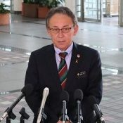 """I cannot help but feel intense indignation;"" Governor Tamaki angry at land reclamation in Henoko says, nothing has changed despite petitioning the Chief Cabinet Secretary and the Minister of Defense to call it off"