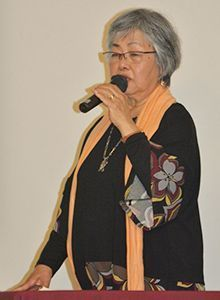 OWAAMV's Takazato explains WWII-era framework of sexual violence still exists in Okinawa