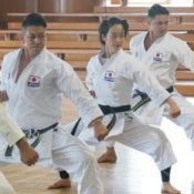 Five Karate-ka headed to the Tokyo Olympics train together in Okinawa in their quest for gold