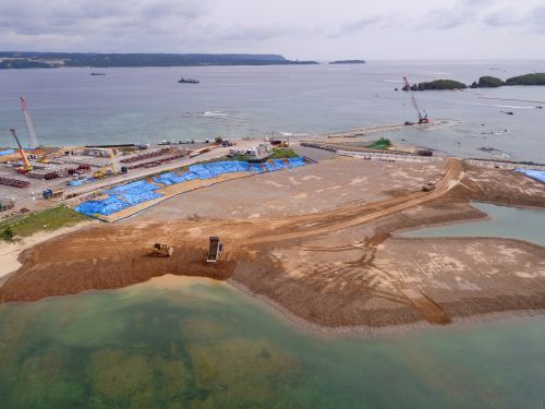 ODB begins construction of K8 seawall in preparation for impending Oura Bay soil deposits