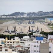 Complaints of aircraft noise from Air Station Futenma at a record high of 684