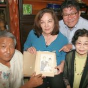 Second-generation Okinawan descendant meets with her mother's relatives in Okinawa