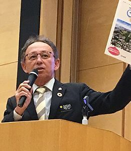 "Okinawa Governor Denny Tamaki declares Henoko construction ""anti-democratic"" in speech at Waseda University"