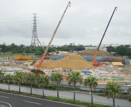 Over six times the normal level of hexavalent chromium detected at arena construction site in Okinawa City