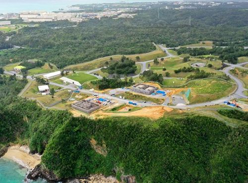 Reconstruction work of Henoko ammunition storage facilities continues