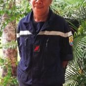 Female firefighter in New Caledonia finds her Okinawan roots
