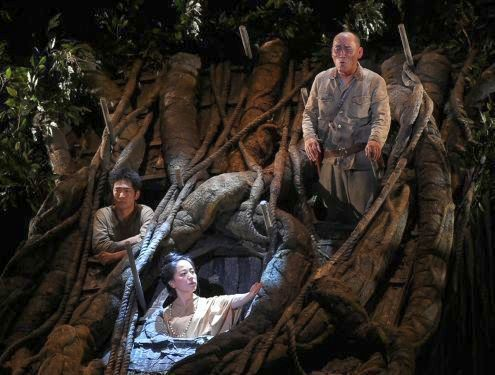 'Army on the Tree' comes to Okinawa stage, resonating with Okinawans' desire for peace