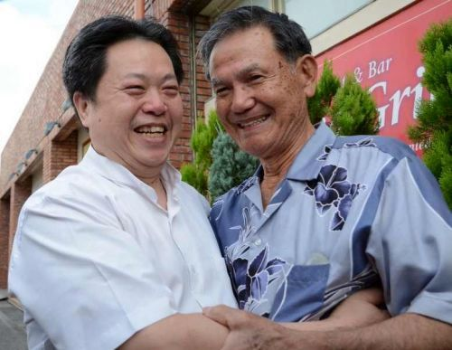 Vietnamese refugee and Okinawan rescuer reunited after 36 years